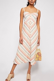 Free People Striking Stripe Dress - Product Mini Image