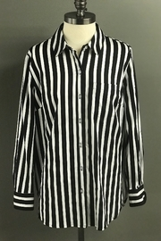 Tribal  Striking Striped Shirt - Product Mini Image