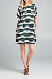Ellison Striking Stripes Dress - Product Mini Image