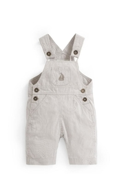 JoJo Maman Bebe Stripe Baby Overalls - Front cropped