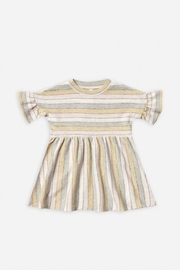Rylee & Cru Stripe Babydoll Dress - Front cropped