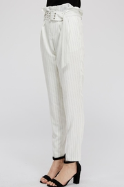 The Sang Stripe Belted Pants - Side cropped