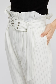 The Sang Stripe Belted Pants - Other