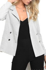 Alba Stripe Blazer - Product Mini Image