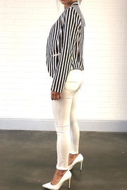 OVI Stripe Blazer - Front full body