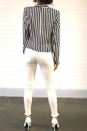 OVI Stripe Blazer - Side cropped