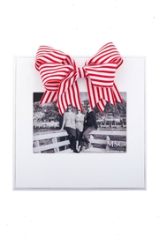Main Street Collection Stripe Bow Frame - Product Mini Image