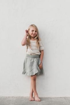 Rylee & Cru Stripe Boxy Tee - Alternate List Image