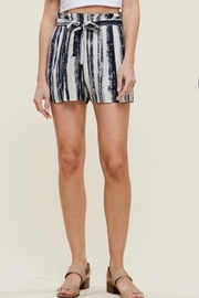 Staccato Stripe Bucket Shorts - Front cropped