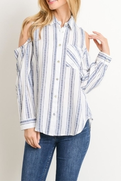Gilli USA Stripe Button Down - Product List Image