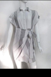 The Room Stripe Button-Up Dress - Product Mini Image
