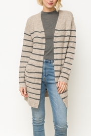 Mystree Stripe Cardi Mys - Product Mini Image