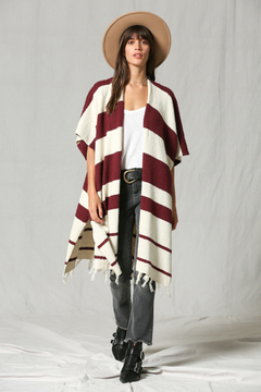 By Together Stripe Cardigan - Product List Image