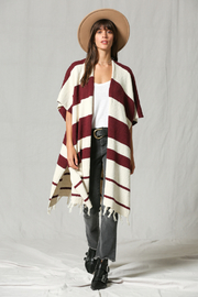 By Together Stripe Cardigan - Product Mini Image