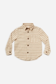 Rylee & Cru Stripe Collared Shirt - Product Mini Image