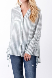 annabelle Stripe Cotton Shirt - Product Mini Image