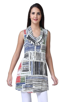 Parsley & Sage Stripe Cowl Tunic - Product List Image