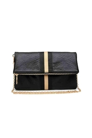 Moda Luxe Stripe Detail Clutch - Product Mini Image
