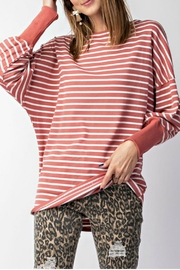 easel Stripe Dolman Top - Product Mini Image
