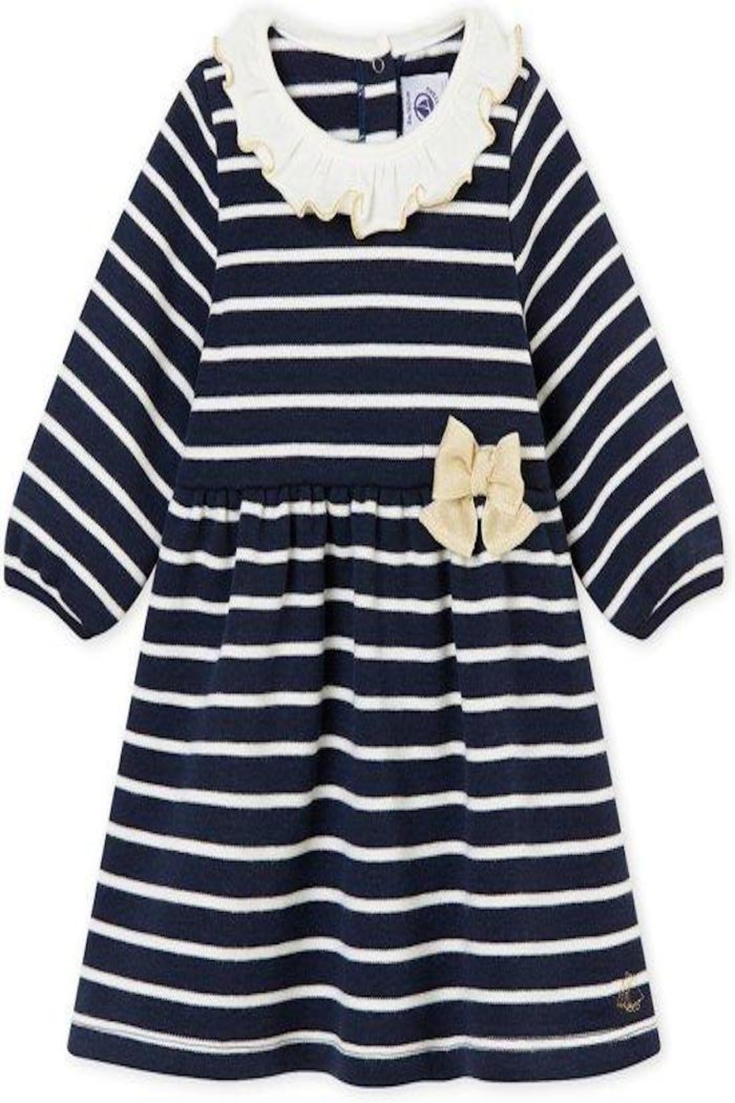 Petit Bateau Stripe Dress - Front Cropped Image
