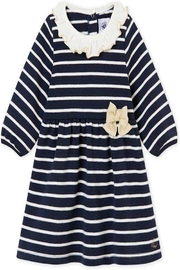 Petit Bateau Stripe Dress - Front cropped