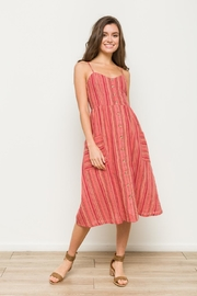 Hem & Thread Stripe Dress - Product Mini Image