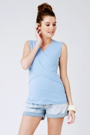Ripe Maternity Stripe Embrace Tank - Product Mini Image