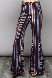 Do & Be Stripe Flare Pants - Product Mini Image
