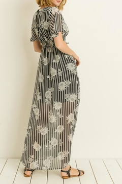 Gilli Stripe Floral Maxi-Dress - Alternate List Image