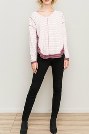 Hem & Thread Stripe Gal Top - Product Mini Image