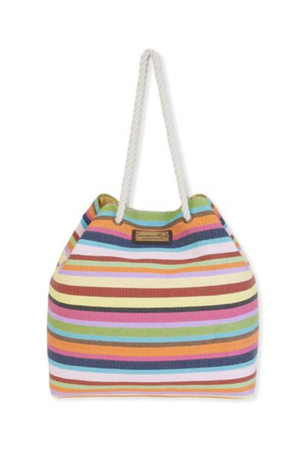 sun and sand Stripe Gap Tote - Front Cropped Image