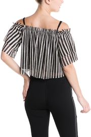 Mad For Love Stripe Glitter Top - Side cropped