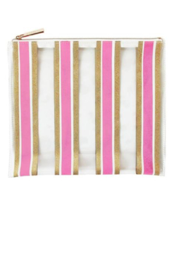 Packed Party Stripe Here, Stripe Now Everything Pouch - Product List Image