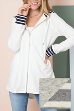 Simply Noelle Stripe Jacket - Product List Image