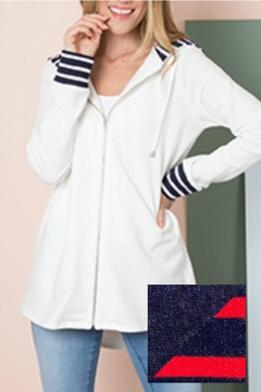 Simply Noelle Stripe Jacket - Alternate List Image