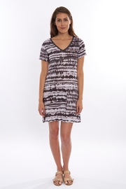 David Cline Stripe Jersey Dress - Product Mini Image