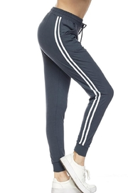 New Mix Stripe Joggers - Product Mini Image