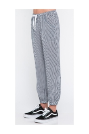 skylar madison Stripe Joggers - Product Mini Image