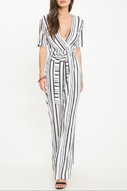 Latiste Stripe Jumpsuit - Product Mini Image