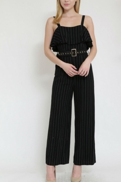 the clothing company Stripe Jumpsuit - Product List Image