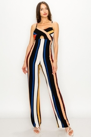 Unknown Factory Stripe Jumpsuit - Product Mini Image