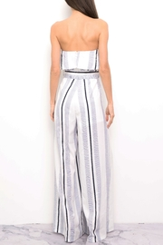 Blithe  Stripe Jumpsuit - Front full body