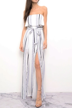 Shoptiques Product: Stripe Jumpsuit