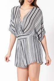 ALB Anchorage Stripe Kimono Romper - Side cropped