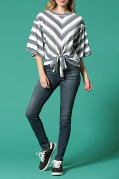 Shoptiques Product: Stripe Knot Shirt