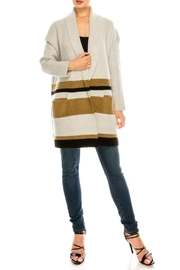 dress forum Stripe Large Cardigan - Product Mini Image