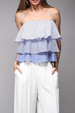 Shoptiques Product: Stripe Layered Top
