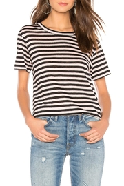 Sanctuary Stripe Linen Tee - Product Mini Image