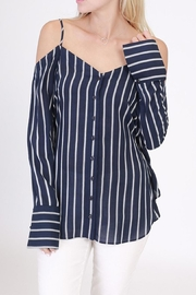 HYFVE Stripe Ls Top - Product Mini Image