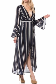 Petalroz Stripe Maxi Dress - Product Mini Image